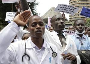 Doctors strike Ghana