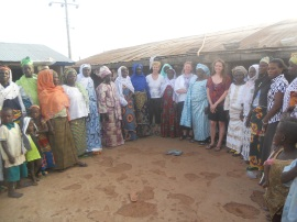 Women in Sang, Magazia, CFTC and RAINS in Sang, Ghana