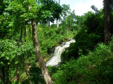 Kintampo waterfalls, Ghana